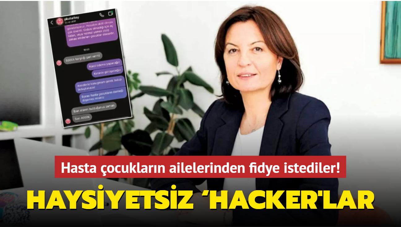 Hasta çocukların ailelerinden fidye istediler! Haysiyetsiz 'hacker'lar