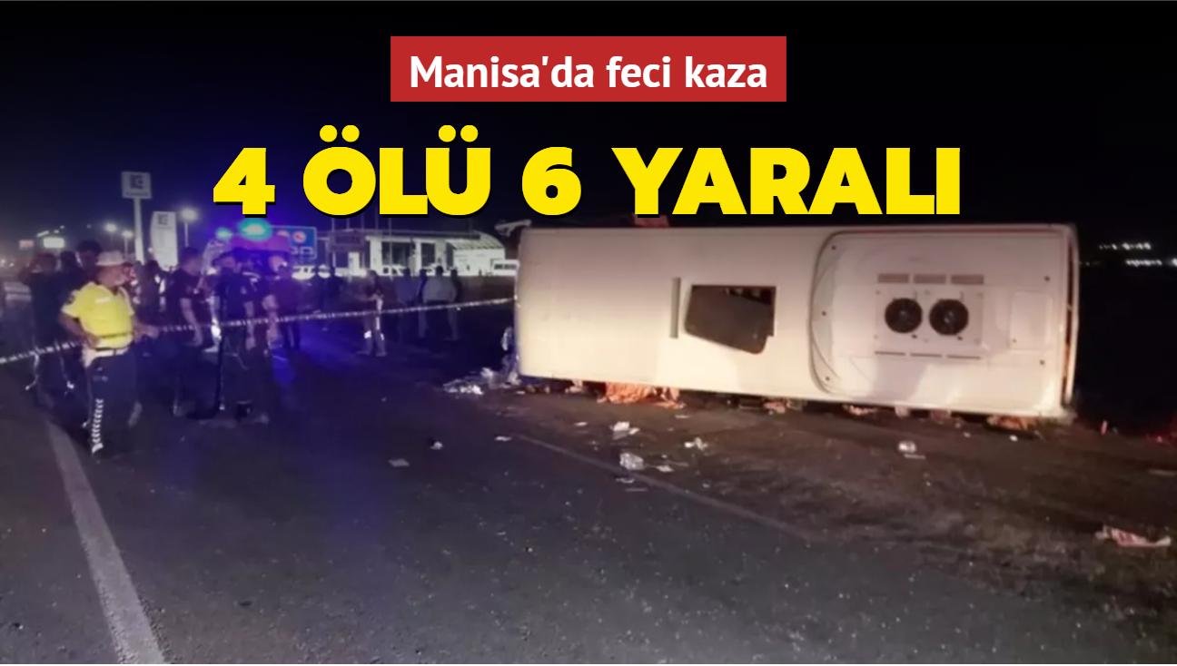 Manisa'da feci kaza... Çok sayıda ölü ve yaralı var