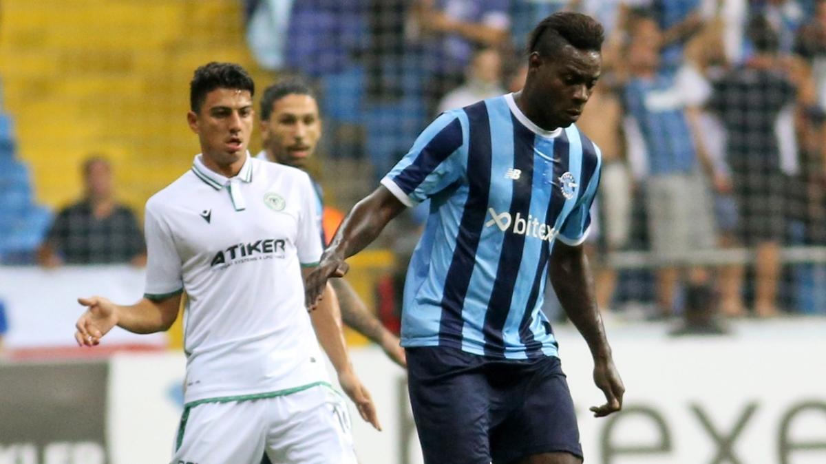 Adana Demirspor sahasında Konyaspor ile 1-1 berabere kaldı