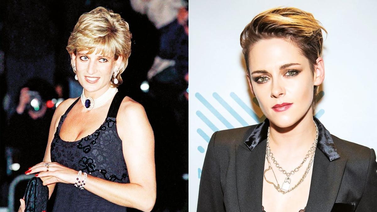Alacakaranlık'ın yıldızı Kristen Stewart'ın Prenses Diana'yı canlandırdığı Spencer filminin afişi yayınlandı