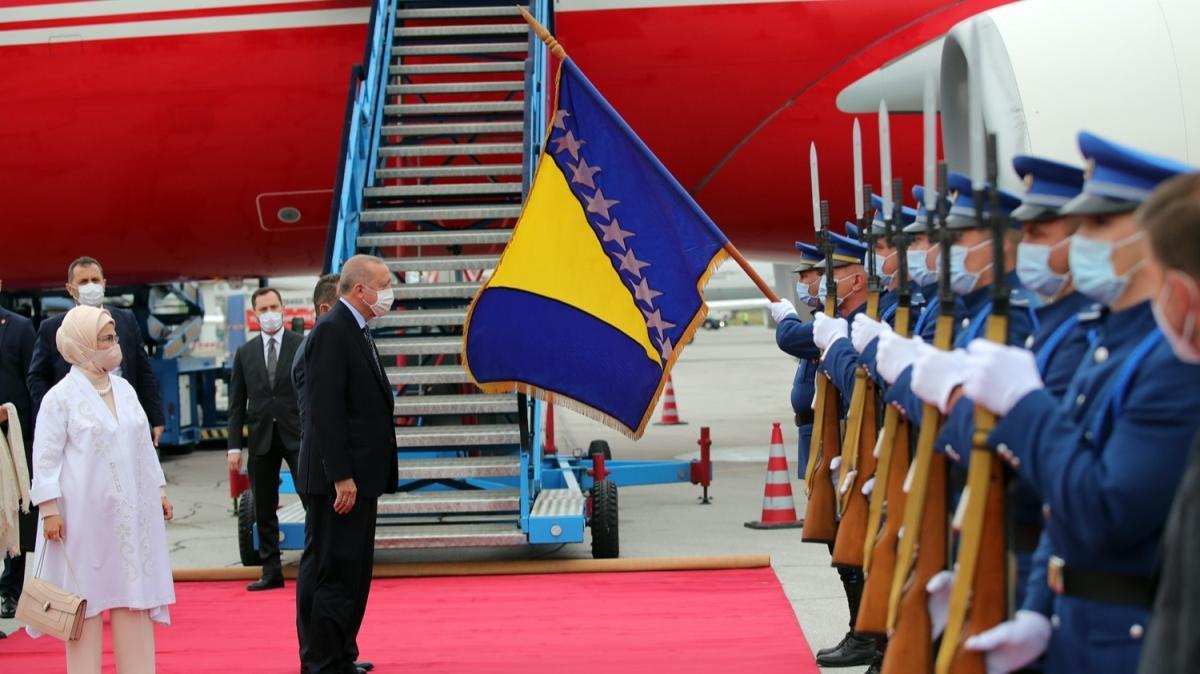 Başkan Erdoğan Bosna Hersek'te