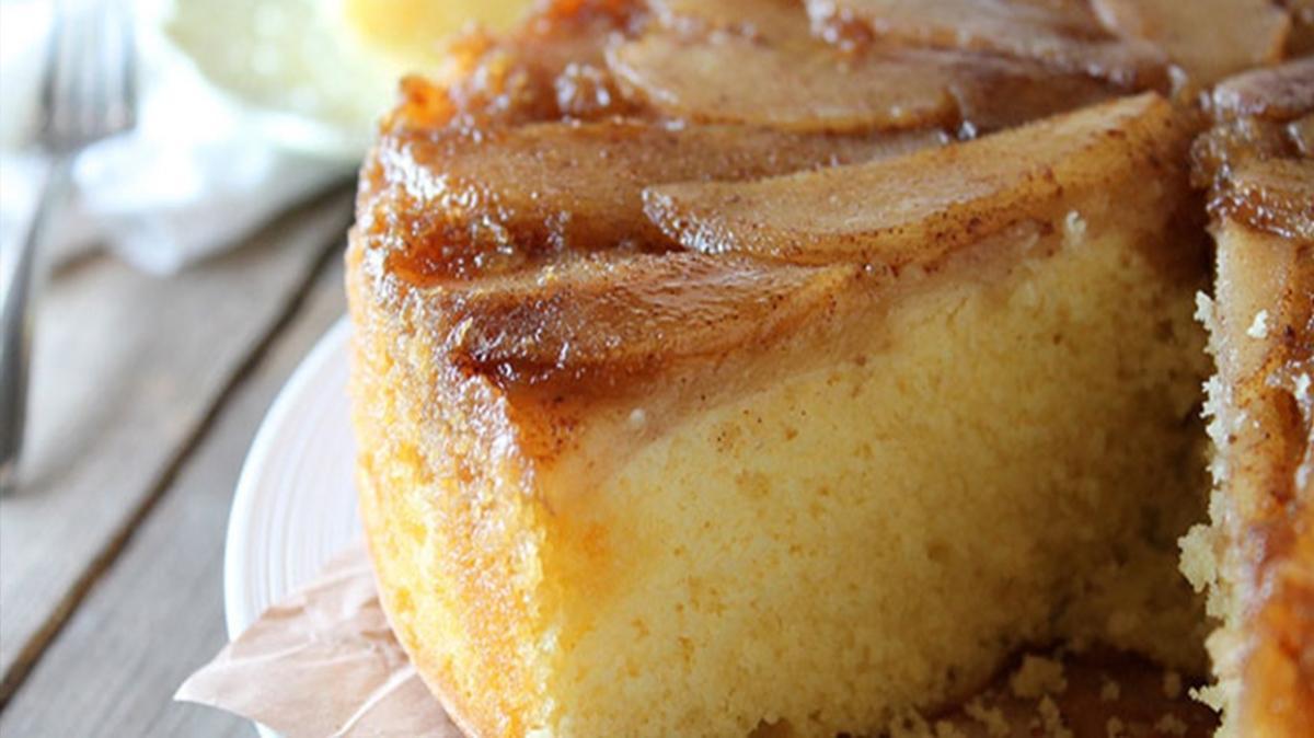 """Çıtır armut pastası tarifi ve malzemeleri! Çıtır armut pastası nasıl yapılır"""""""