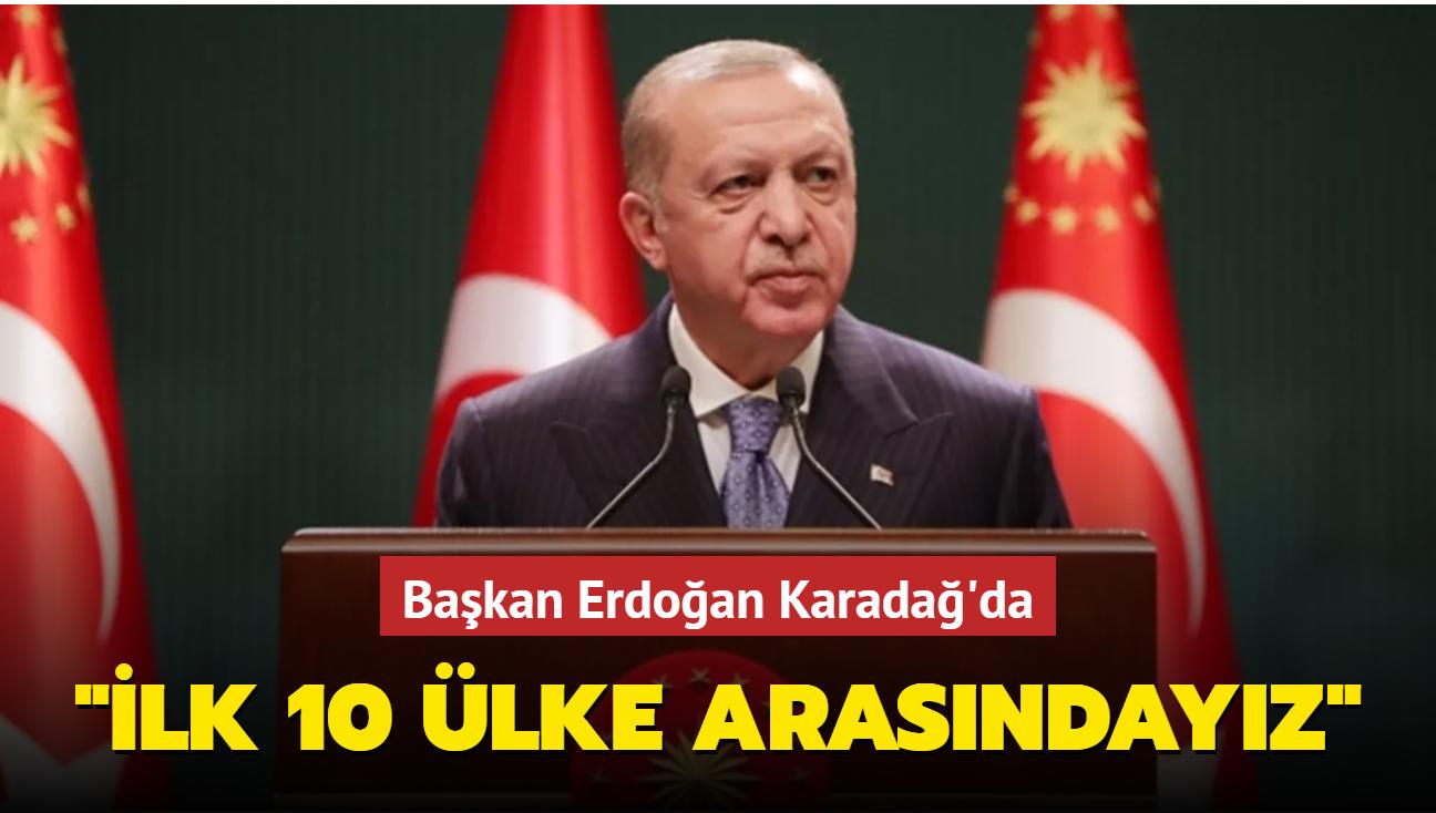 Başkan Erdoğan, Karadağ Cumhurbaşkanı ile ortak basın toplantısı düzenledi