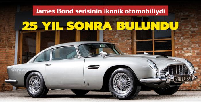 James Bond serisinin ikonik otomobiliydi... 25 yıl sonra bulundu