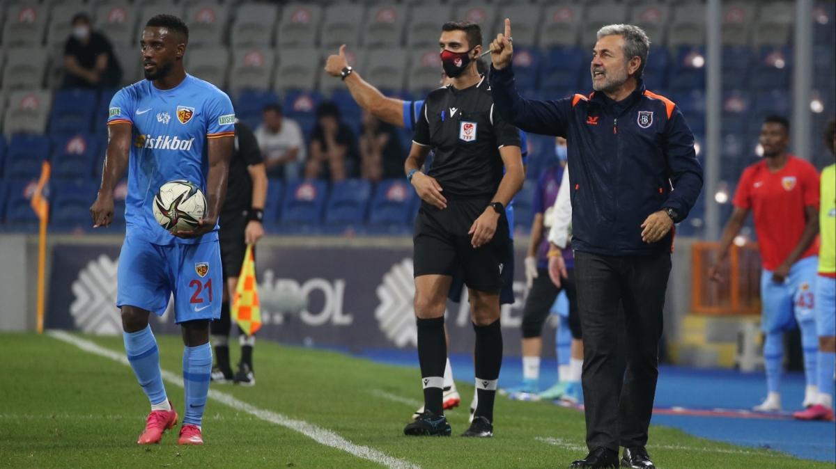 Aykut Kocaman: İddia ediyorum kırılganlığımızı ortadan kaldırınca gol atacağız
