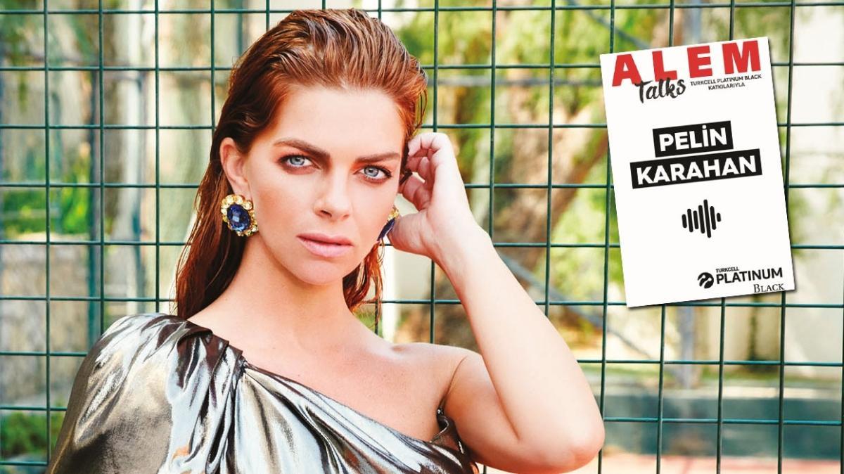"""Bir zamanlar Kıbrıs'ın yıldızı Pelin Karahan ALEM Talks Podcast'in yeni konuğu oldu! """"Hayalimde oyunculuk yapmak yoktu"""""""