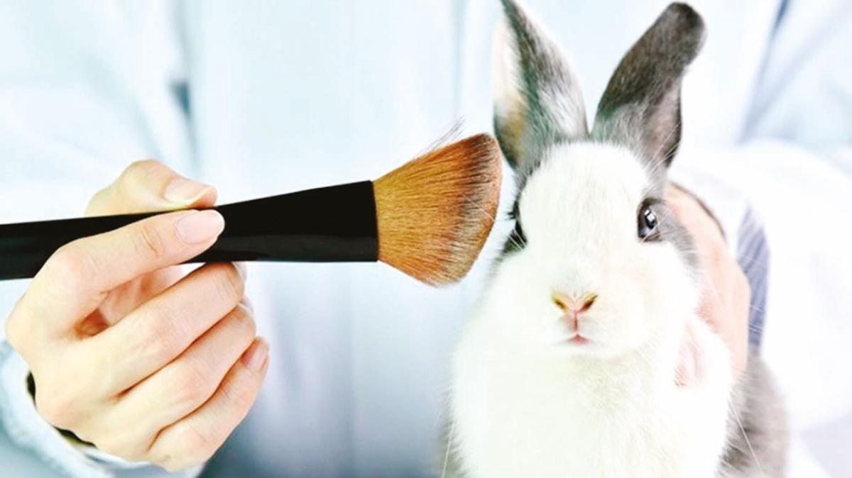 Hayvanlar üzerinde kozmetik test yasak