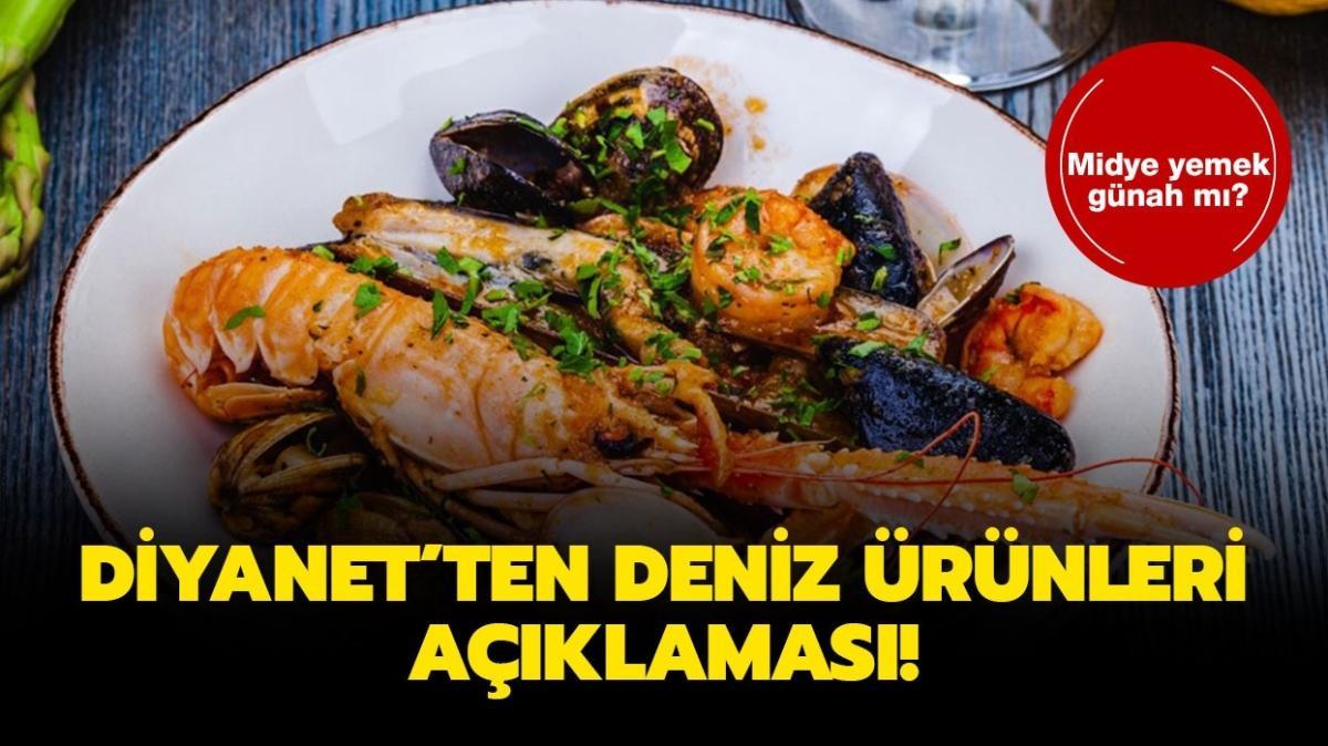 """Deniz ürünleri yemek günah mı"""" Midye, karides, yengeç, kalamar yemek helal mi, haram mı"""""""
