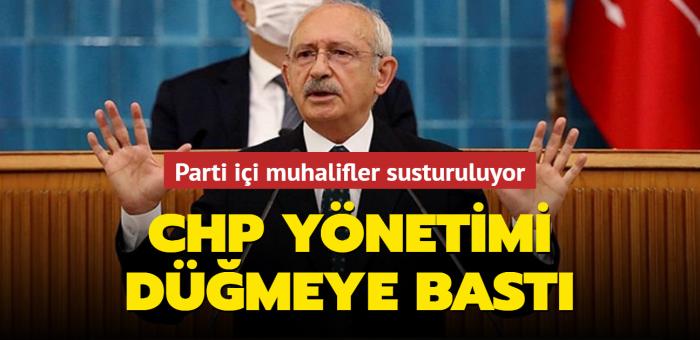 CHP yönetimi düğmeye bastı: Parti içi muhalifler susturuluyor