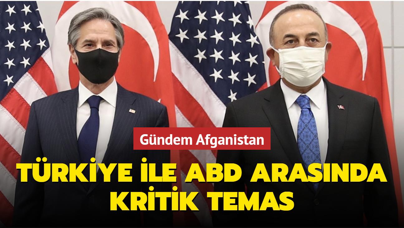 Dışişleri Bakanı Çavuşoğlu ABD'li mevkidaşı Blinken ile görüştü