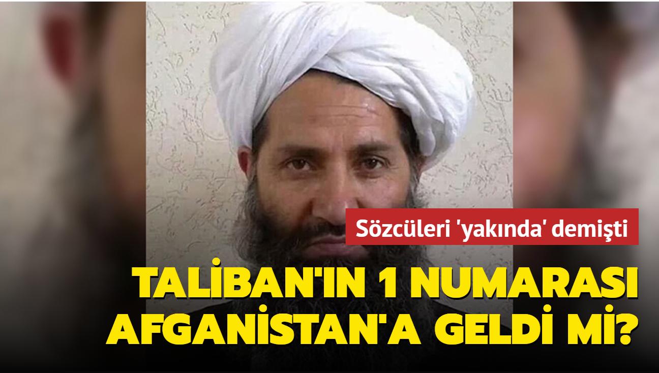 Hibetullah Ahundzade'nin Afganistan'ın Kandahar ilinde olduğu öne sürüldü