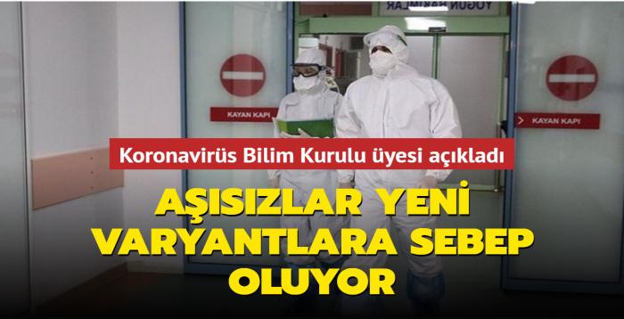 """Prof. Dr. Hasan Murat Gündüz: """"Hastalık yayılmaya devam ederse yeni varyantlar da olur"""""""