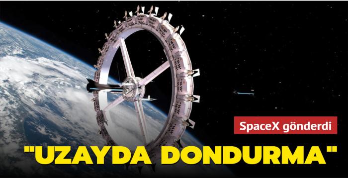 "SpaceX gönderdi... ""Uzayda dondurma"""