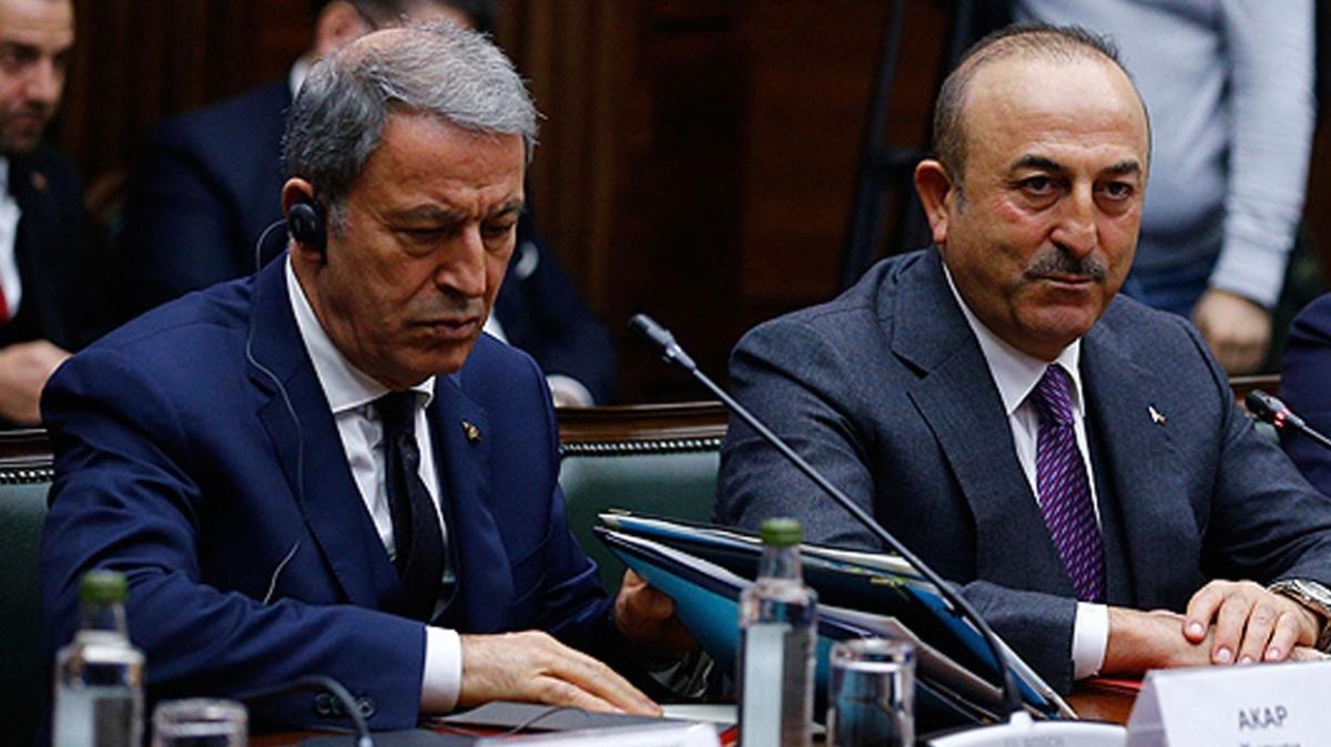 Akar ve Çavuşoğlu Katarlı mevkidaşlarıyla görüştü