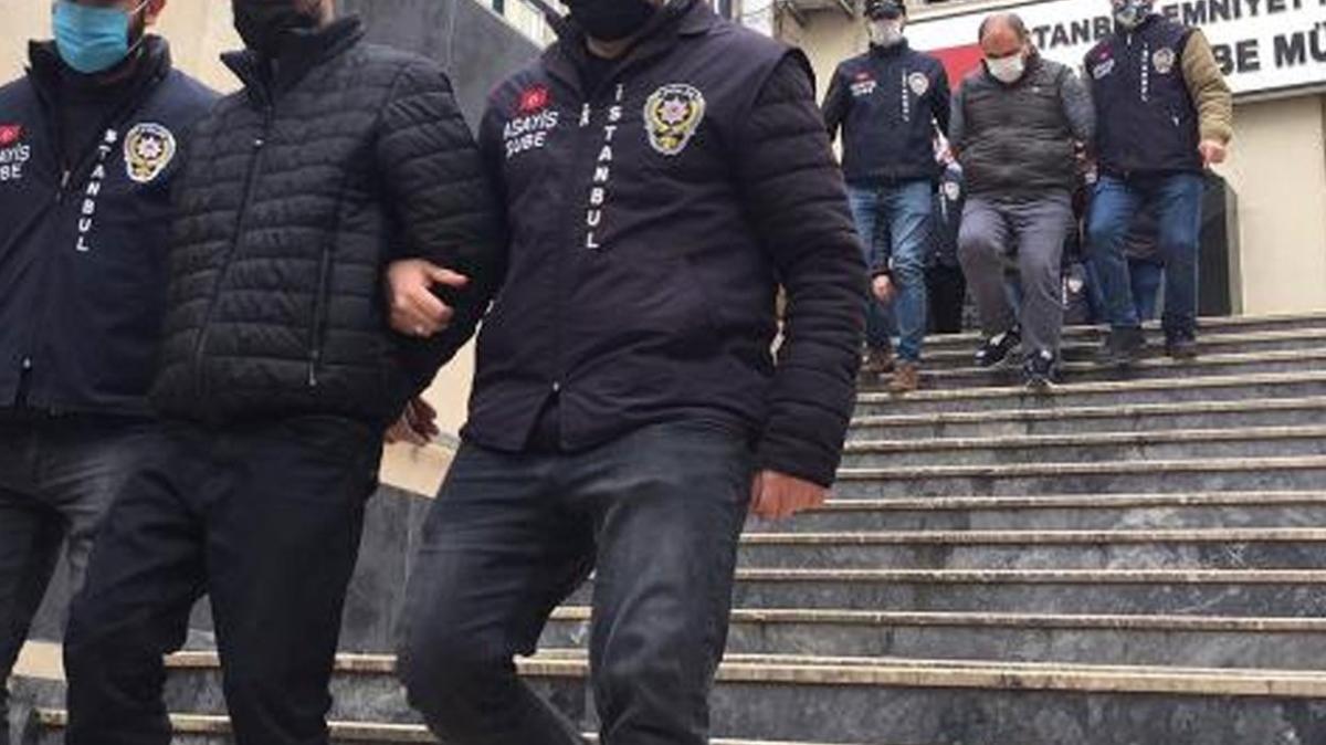 İstanbul'da toplamda 5 milyon TL'lik hırsızlık yapan 7 şüpheli yakalandı