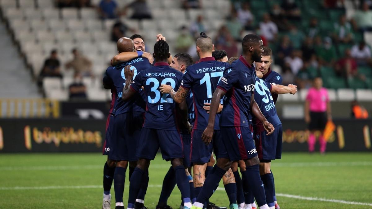 Karadeniz derbisinde Trabzonspor güldü