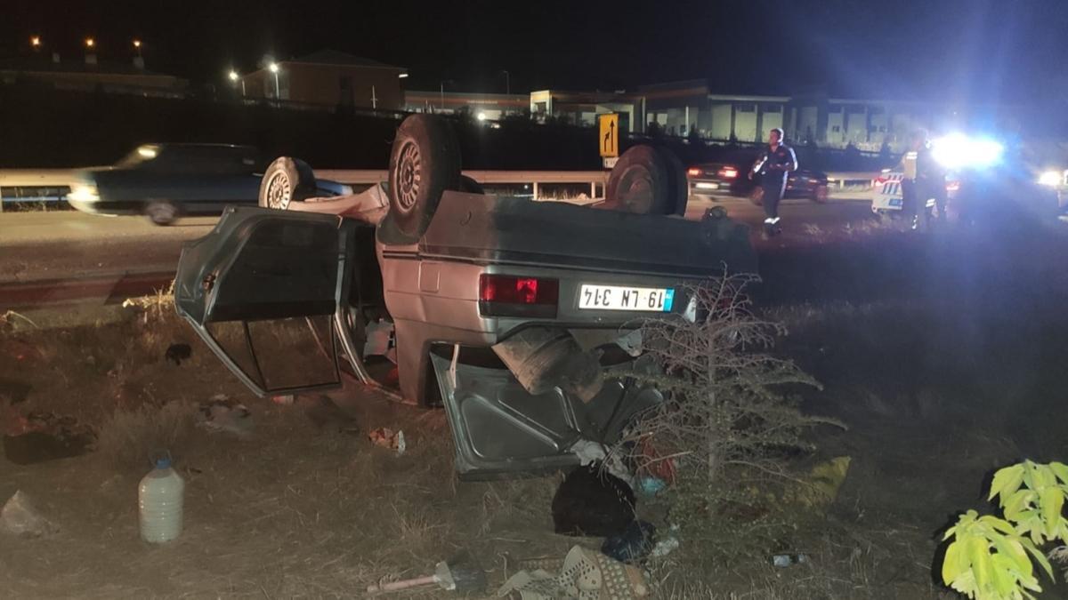 Kırıkkale'de trafik kazasında 6 kişi yaralandı