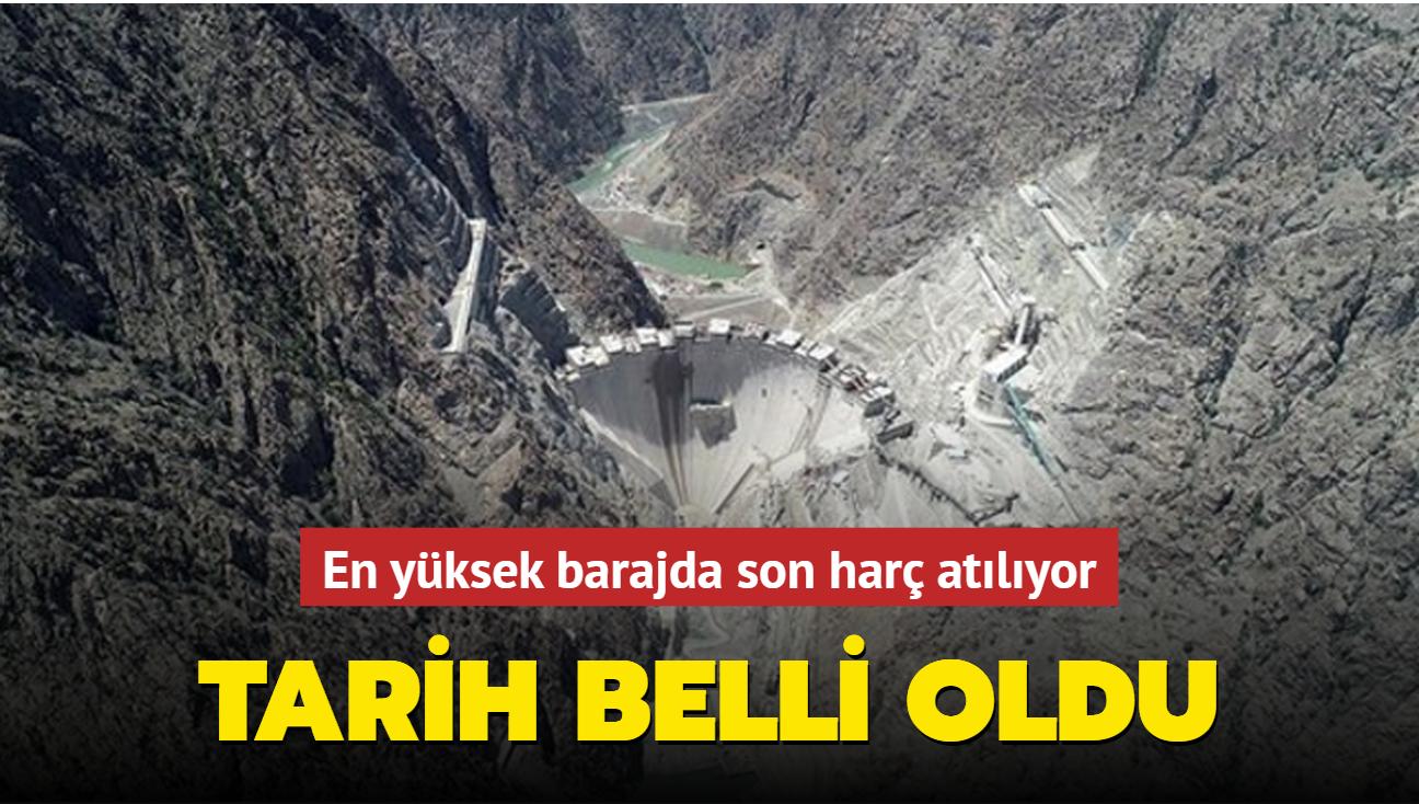 Tarih belli oldu: Yusufeli Barajı'nın son harcı Başkan Erdoğan'ın katılacağı törenle atılacak