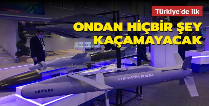 Minyatür bombanın yeni yetenekleri... Aselsan üretti, Türkiye'nin ilki oldu