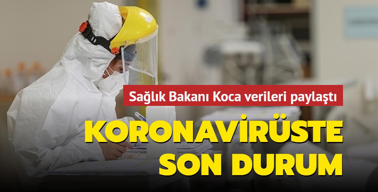 Sağlık Bakanı Koca, Kovid-19 salgınında son durumu açıkladı... İşte 30 Ağustos 2021 koronavirüs tablosu