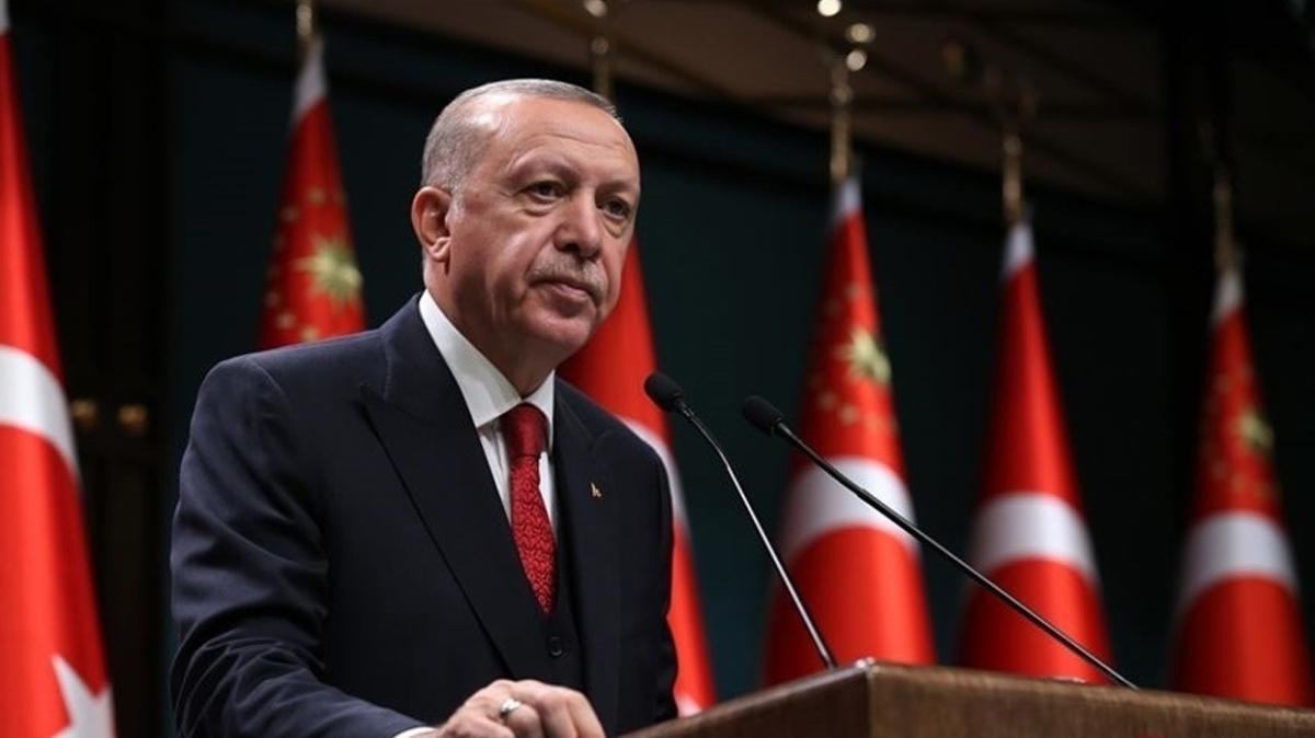 Başkan Erdoğan, şehit Uzman Çavuş İsmail Şebelek'in ailesine başsağlığı diledi