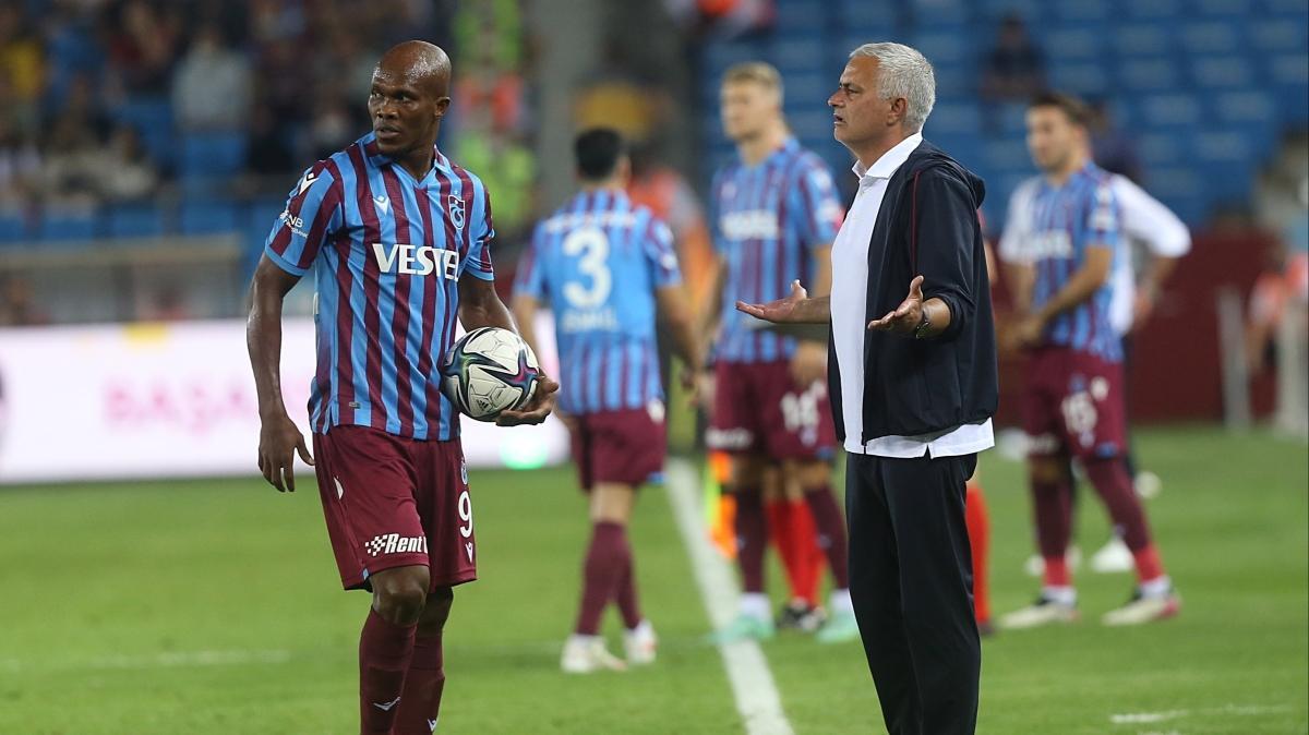Mourinho'dan Trabzonspor'a yakın takip