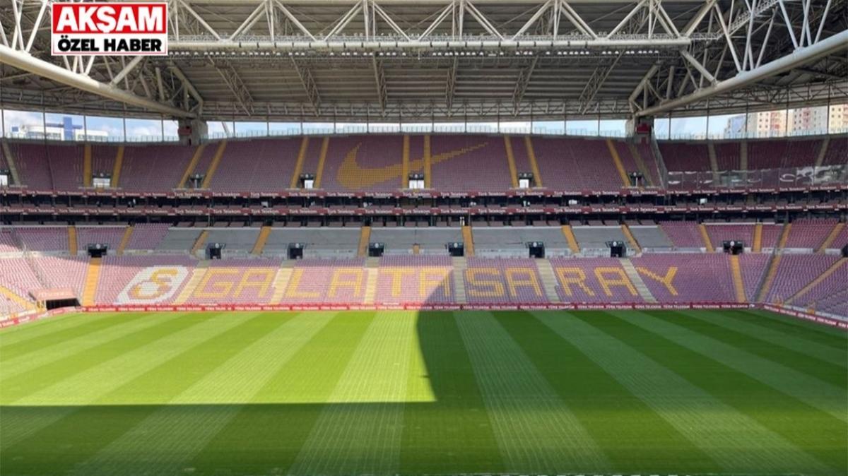 ÖZEL! Aslan yuvası hazır! İşte Galatasaray'ın Türk Telekom Stadyumu'nda yapılan çalışmalar ve oynanacak olan ilk maç