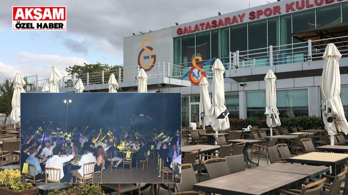 ÖZEL! Kalamış'ta olaylı gece: Fenerbahçeliler, Galatasaray Tesisleri'ni bastı!