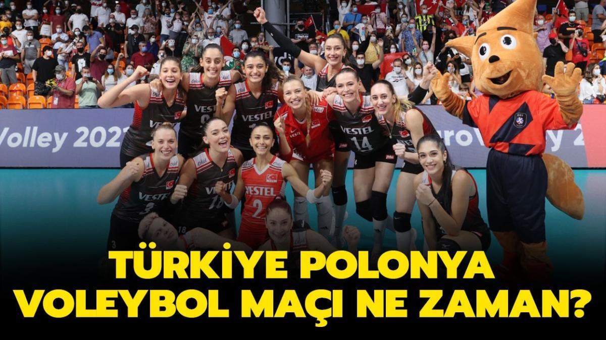 """CEV Avrupa Şampiyonası Türkiye Polonya voleybol maçı bugün mü"""" Türkiye Polonya voleybol maçı ne zaman, saat kaçta"""""""