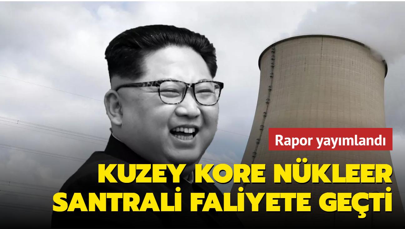 """Uluslararası Atom Enerjisi Kurumu """"rahatsız edici"""" buldu... Kuzey Kore nükleer santrali faliyete geçti"""