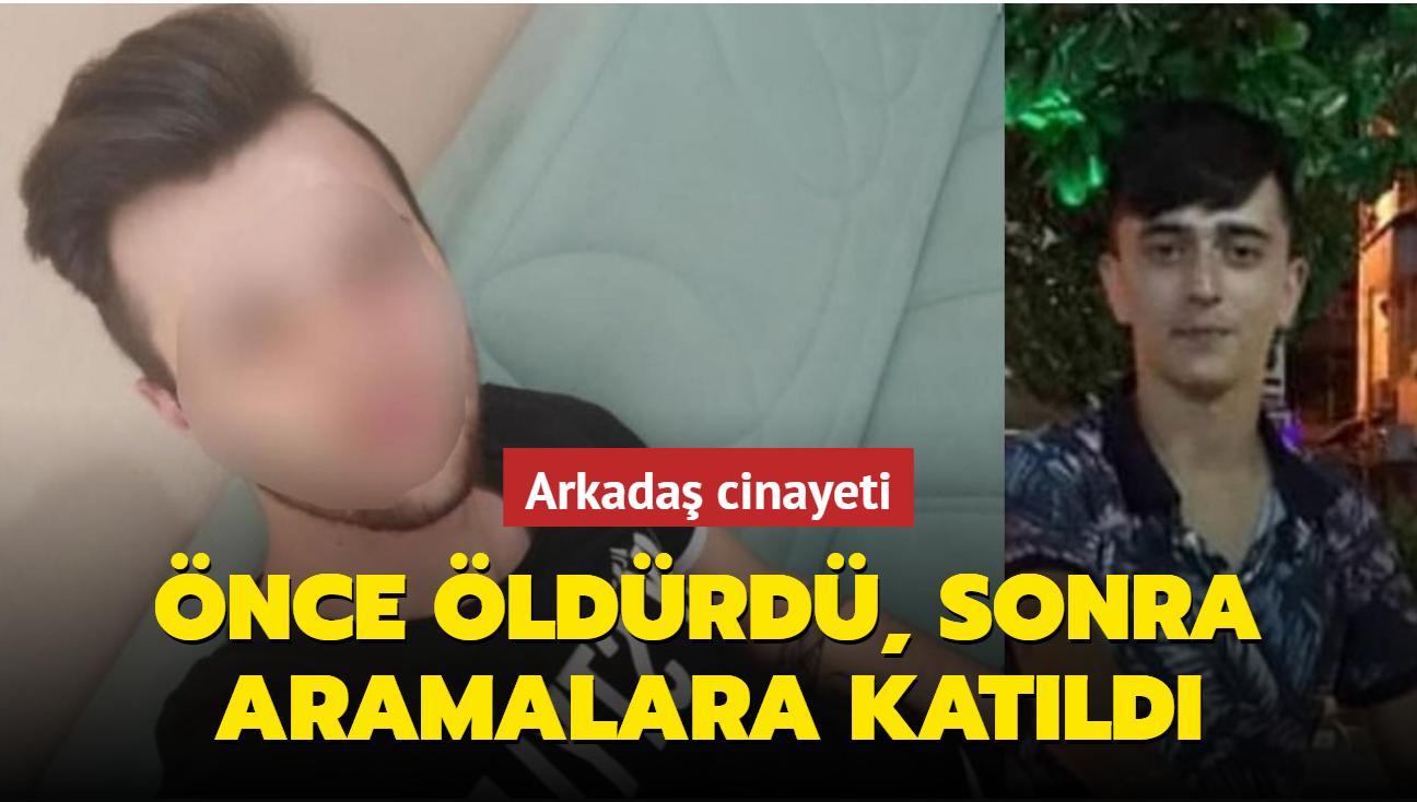 Zonguldak'ta arkadaşını öldüren genç daha sonra arama faaliyetlerine katıldı