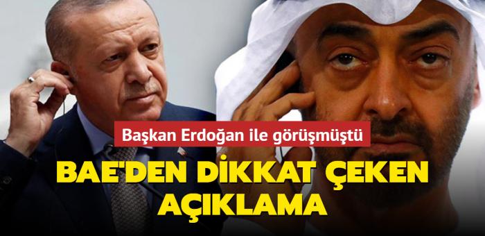 BAE'den dikkat çeken Türkiye açıklaması:  Yeni sürece denk gelmesi önemli