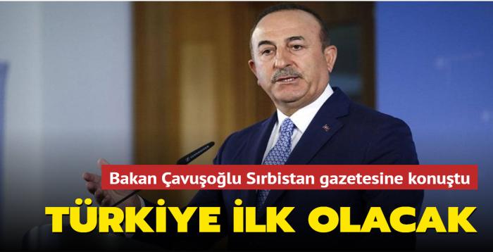 Bakan Çavuşoğlu: Türkiye, Yeni Pazar'da Başkonsolosluk açan ilk ülke olacak