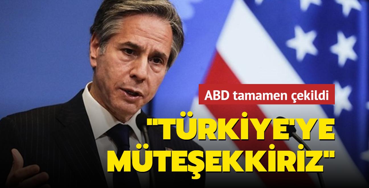 Blinken açıkladı: ABD, Kabil'deki diplomatik varlıklarını askıya aldı