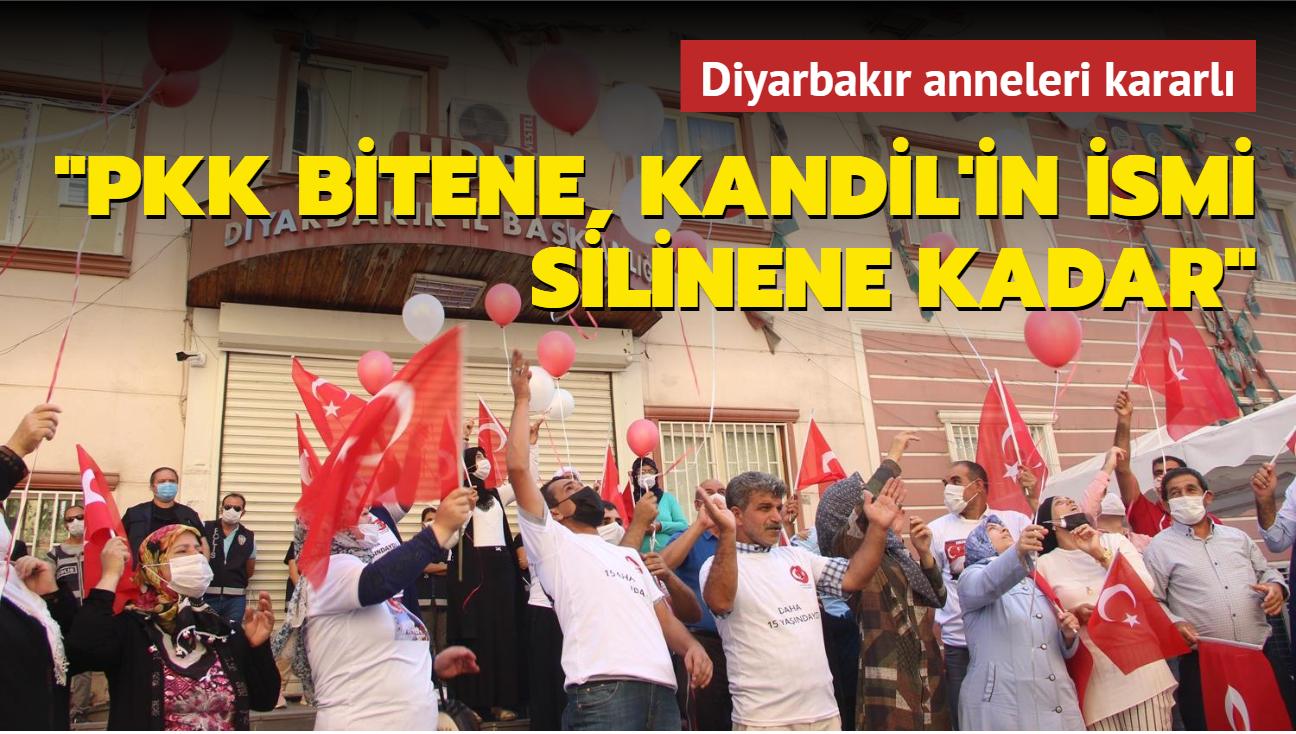 """Diyarbakır annelerinin eylemi 729. gününde... """"PKK bitene, Kandil'in ismi silinene kadar mücadele devam edecektir"""""""