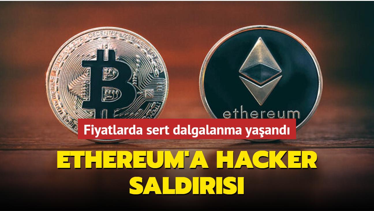 Ethereum'a hacker saldırısı