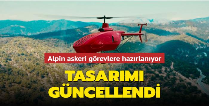 İnsansız helikopter Alpin yeni görevleri için hazırlanıyor