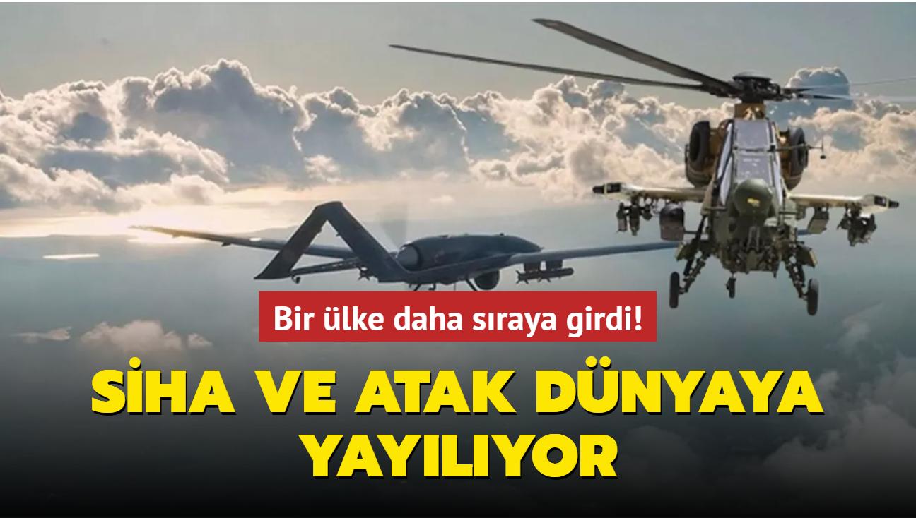 Irak Türkiye'den SİHA ve ATAK helikopteri satın almak istiyor