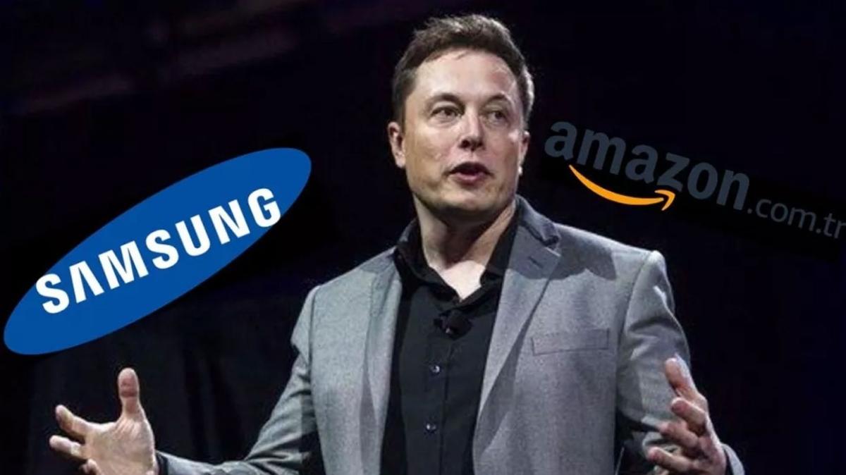 Elon Musk, Amazon ve Samsung ayağa kalktı... Çip anlaşması devleri ürküttü