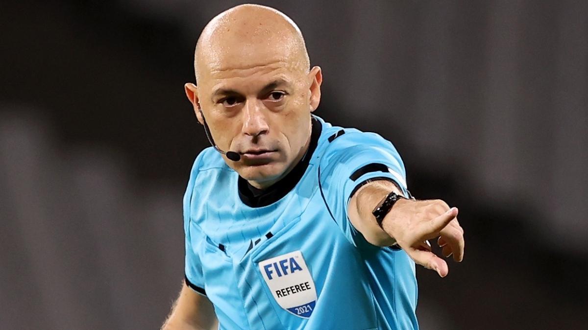 Macaristan-İngiltere maçında Cüneyt Çakır düdük çalacak