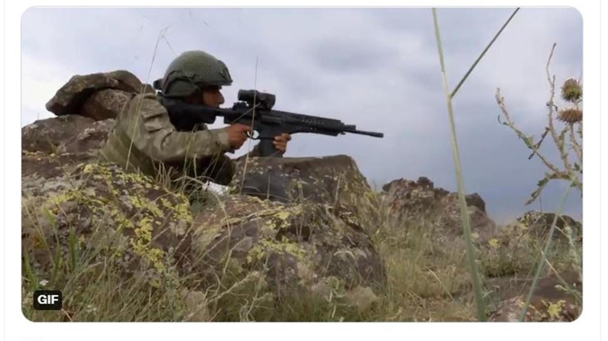 Son dakika haberi... 4 PKK/YPG'li terörist etkisiz hale getirildi