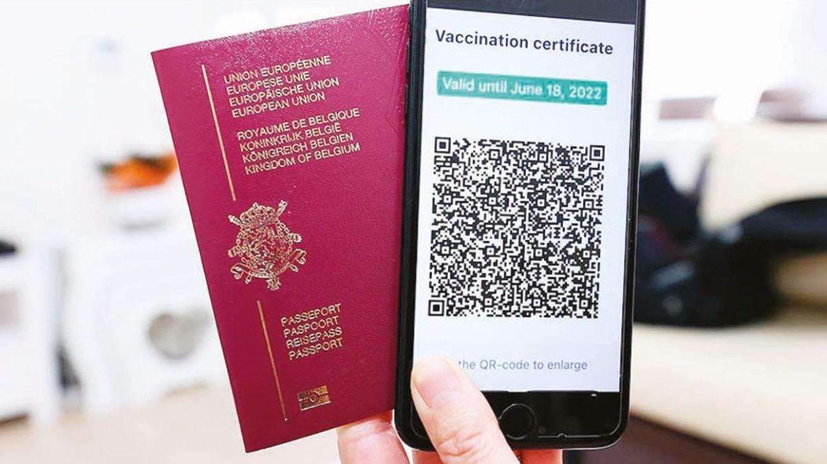 Türk aşı sertifikası AB'ye girdi