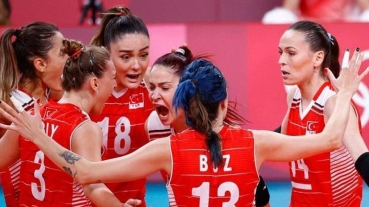 """Filenin Sultanları yarı final maçı ne zaman"""" Türkiye voleybol yarı final maçında rakibi kim oldu"""""""