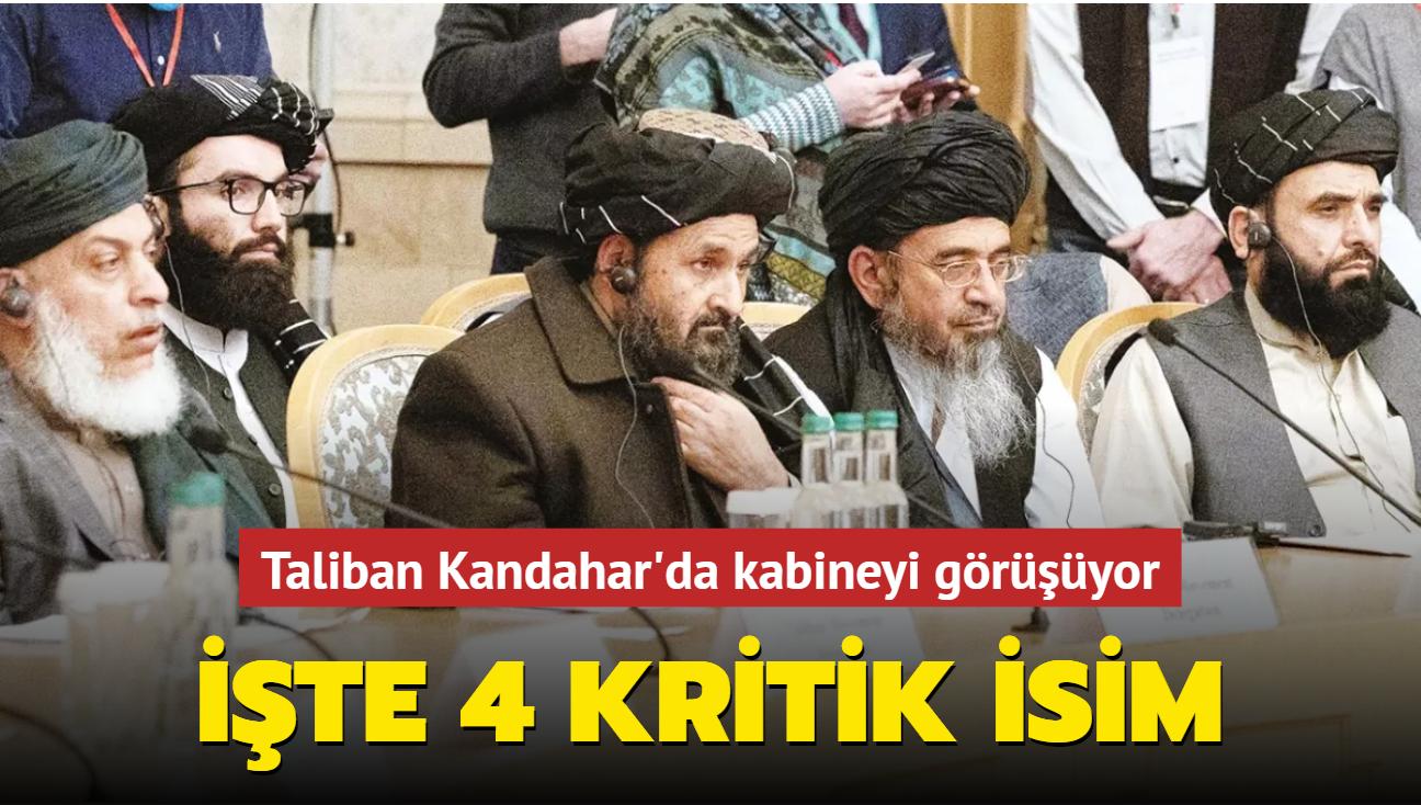 Taliban Kandahar'da kabineyi görüşüyor