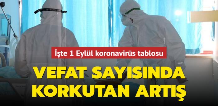 Sağlık Bakanı Koca, Kovid-19 salgınında son durumu açıkladı... İşte 1 Eylül 2021 koronavirüs tablosu