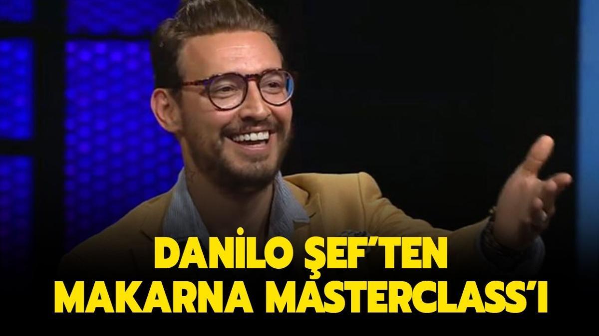 """İtalyan usulü makarna nasıl yapılır"""" MasterChef Danilo Şef makarna tarifi ve püf noktaları!"""