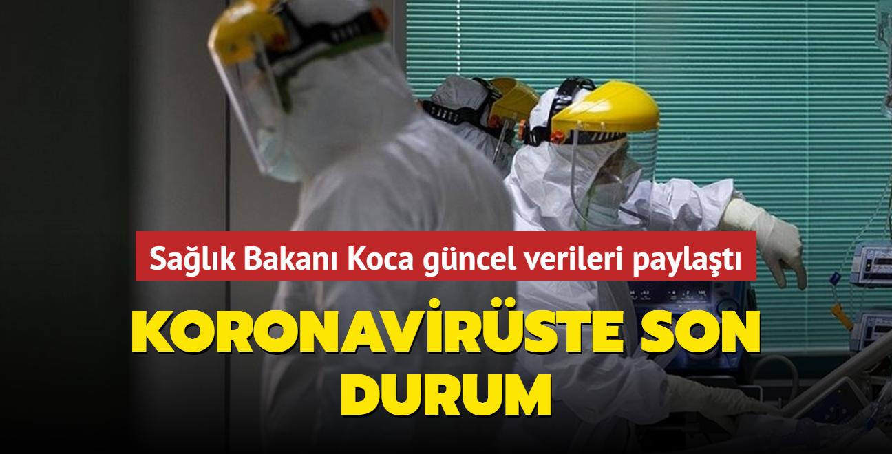 Sağlık Bakanı Koca, Kovid-19 salgınında son durumu açıkladı... İşte 3 Eylül 2021 koronavirüs tablosu