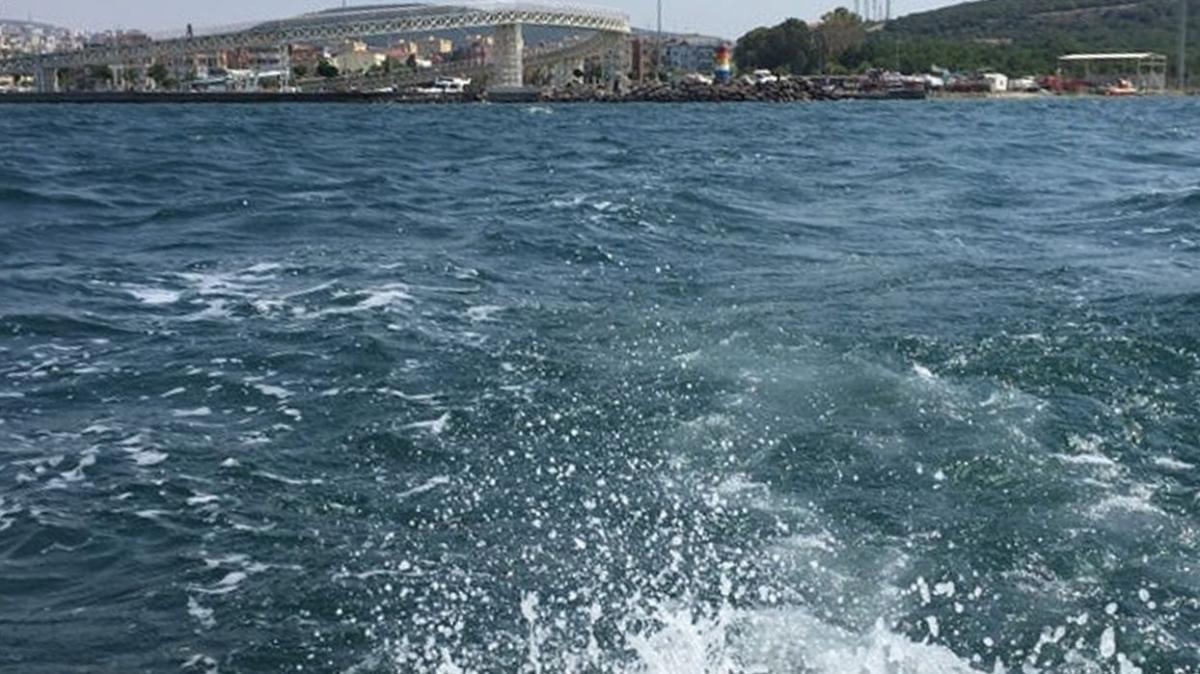 İzmir-Aliağa'da alabora olan teknede 1 kişi boğularak hayatını kaybetti