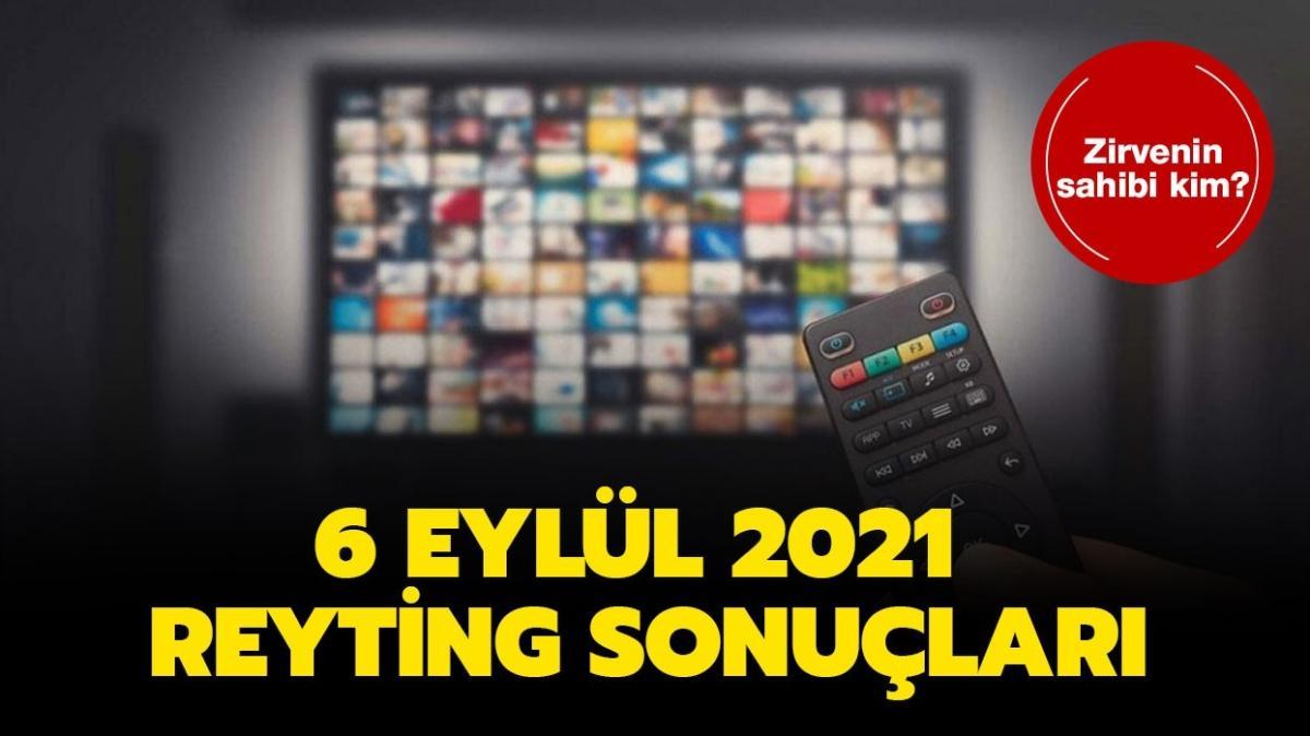 """6 Eylül 2021 reyting sonuçları açıklandı! Kalp Yarası, Aşkın Tarifi dizi reyting birincisi kim"""""""