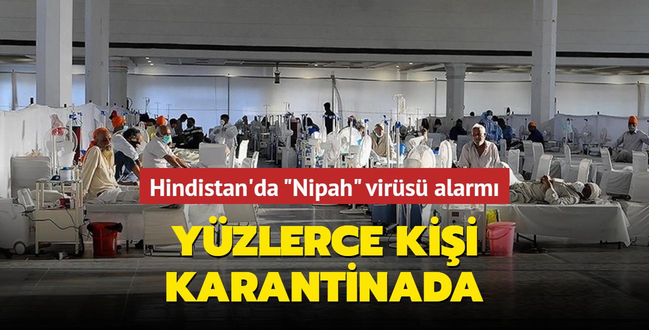 Hindistan'da Nipah virüsü alarmı... Yüzlerce kişi karantinada